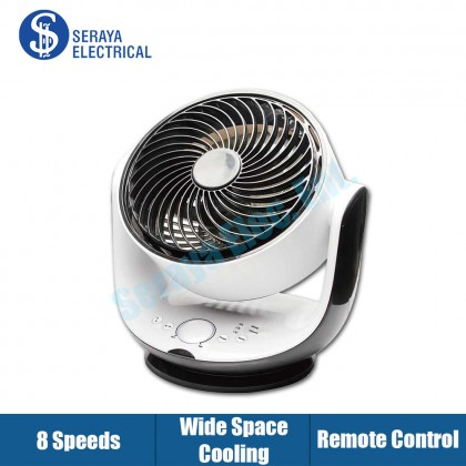 """Mistral 8"""" DC Motor Oscillation Fan with Remote Control (MAIRA) MTFD5070"""