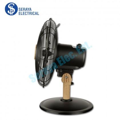 "Mistral 12"" Wooden Table Fan MTF1215M (ROY)"