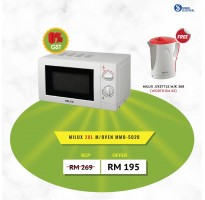Milux 20L Solo Microwave MMO5020