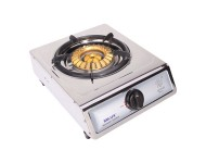 Milux Stainless Steel Single Burner Gas Stove MS39