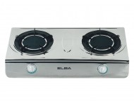 Elba Stainless Steel Double Burner Gas Stove 7150SS