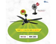 Sharp Decorative Ceiling Fan PJC116 (Random Color)