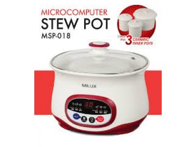 Milux Microcomputer Stew Pot MSP-018