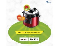 Sharp 6L Pressure Cooker KQ-A60RD