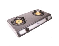 Milux Stainless Steel Double Burner Gas Stove YS-3030B