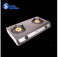 Milux Double Burner Gas Stove YS-3030B