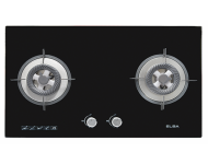 Elba Glass Double Burner Gas Stove EGH-F8522G