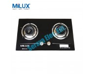 MGH-348 Milux Premium 2 Burner Built-In Cooker Hob