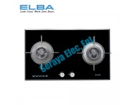 EGH-G8592G(BK) Elba 5.0kw Built-In Tempered Glass Hob with Auto Cut Safety Valve