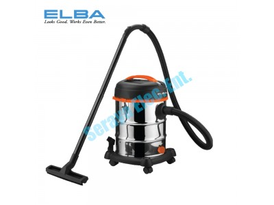 EVC-H1231(SS) ELBA Stainless Steel 3 in 1 Vacuum with HEPA filter (Wet & Dry + Blow) EVC-G1231