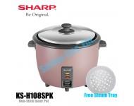 KSH108SPK/SSL Sharp 1.0L Non-Stick Rice Cooker KSH108
