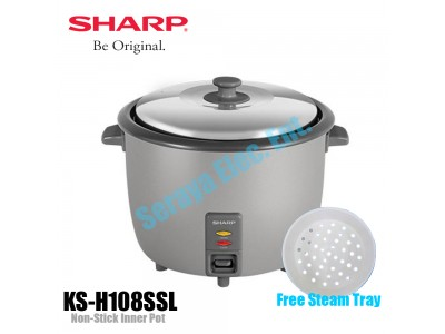 KSH108SPK/SSL Sharp 1.0L Non-Stick Rice Cooker KSH108