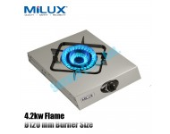 MSS-1800 Milux Double Tornado Flame Fully Stainless Steel Protable Stove