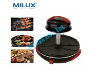 MEG-1200 Milux Multi Function Halogen Electric Barbecue Grill