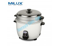 MRC-2106 Milux Mini Rice Cooker 0.6L with Steam Tray