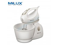 Milux 2-in-1 Stand Mixer with Detachable Motor MSM-9901