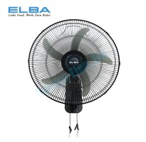 "ELBA 18"" Wall Fan with 5 ABS Blades EWMF-G1862(BK)"