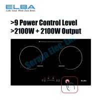 ELBA Built-in Induction Cooker EIC-G3602ST(BK)