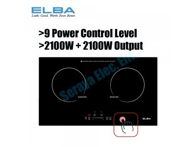 ELBA Built-in Induction Cooker EIC-G3602ST(BK)