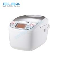 ELBA Microcomputer Rice Cooker ERC-B1886(WH)