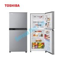 Toshiba 203L 2 Doors Refrigerator with Ag+ Bio Deodorizer GR-B22MP(SS)