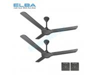 """ELBA ECF-G6012 (GR) 60"""" CEILING FAN (GREY) 2 Units"""