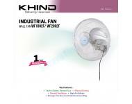 """Khind 18"""" Industrial Wall Fan WF1802F"""