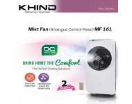 Khind Mist Fan (DC Brushless Motor) MF161