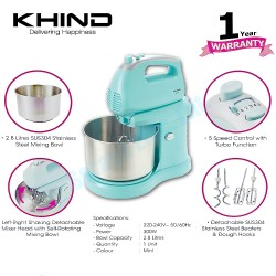 Khind Stand Mixer SM280