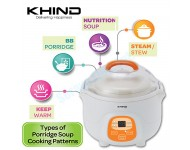 Khind Porridge Soup Cooker BPS07