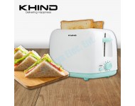 Khind 2 Slices Cool Touch Bread Toaster (Midori Series) BT808