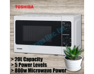 Toshiba Simple Series Microwave Oven ER-SM20(W)MY