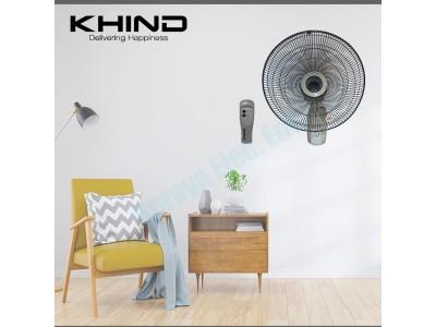 """Khind 16"""" Wall Fan with Remote Control WF16JR"""