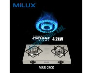 Milux Gas Cooker MSS-2800