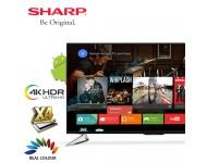 "Sharp 4K UHD Android Smart Slim LED TV 60"" LC60UA6800X"