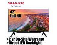 "Sharp 42"" LED Full HD TV with Digital TV and Media Player 2T-C42BD1X / 2TC42BD1X"