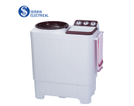 Milux 7KG Semi Auto Washing Machine MSA7001