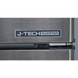 Sharp 400L Two Doors Smile Refrigerator SJ406MSS