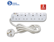 Khind 4 Ways Trailing Socket LN8134W