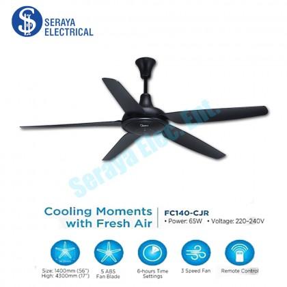 "(2 Units/Box) Midea 56"" Remote Control 5 Blades Ceiling Fan MFC-140CJR"